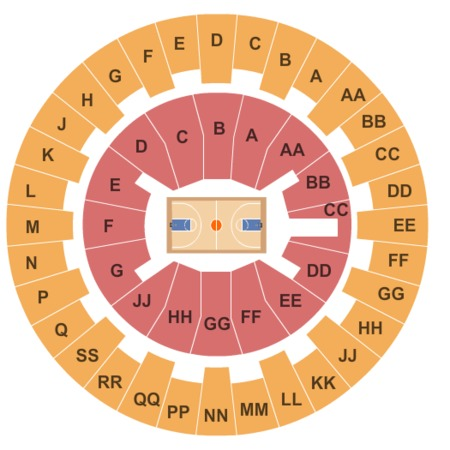 Stan Sheriff Center Seating Chart