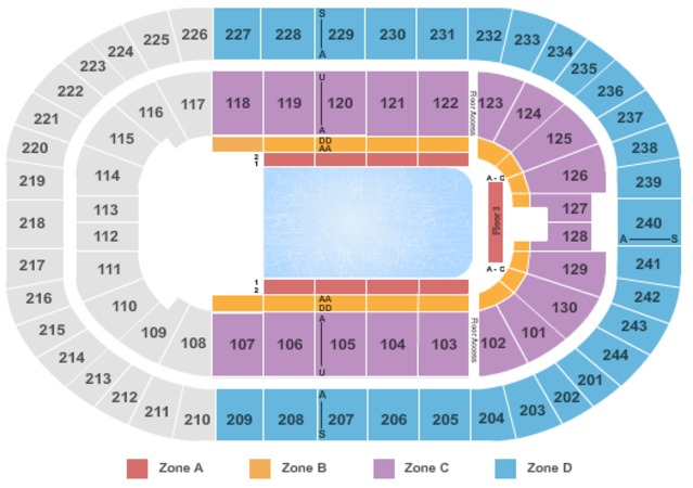 Times Union Center Disney On Ice Int Zone