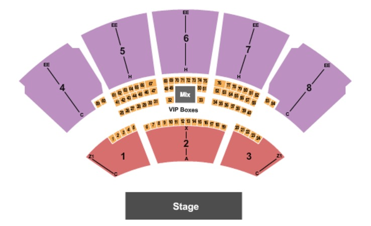 Coral Sky Amphitheatre Tickets In West Palm Beach Florida Seating Charts Events And Schedule