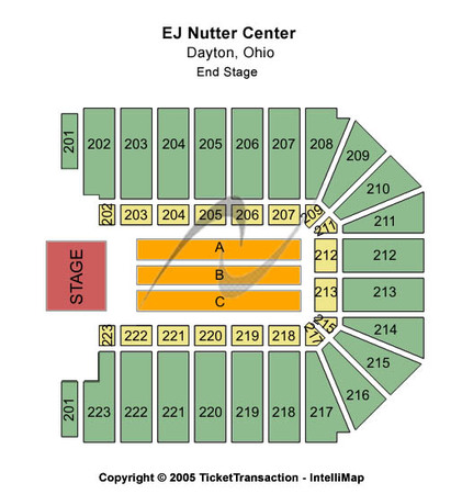 EJ Nutter Center End Stage