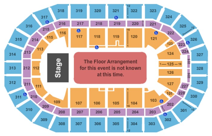 Bell MTS Place Generic Floor