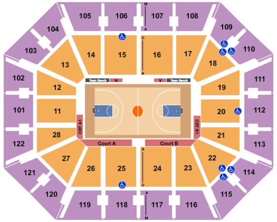 Mohegan Sun Arena Basketball