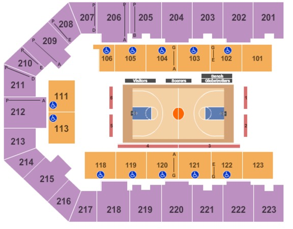Eastern Kentucky Expo Center Basketball