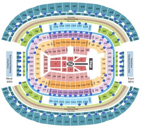 AT&T Stadium Wrestlemania