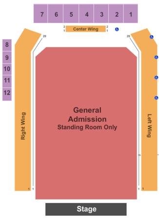 Sands Bethlehem Event Center Tickets In Bethlehem