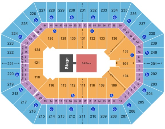 Target Center HalfHouse-GA Floor2