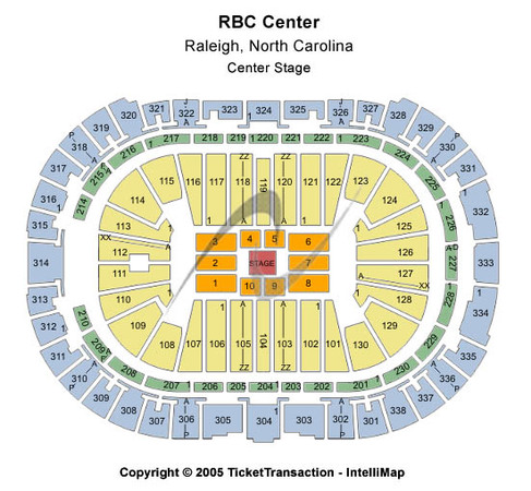PNC Arena Center Stage