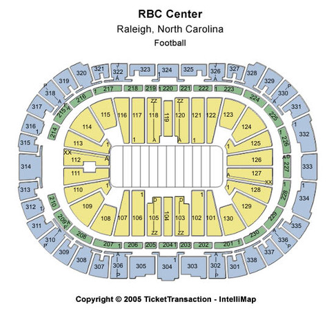 PNC Arena Football