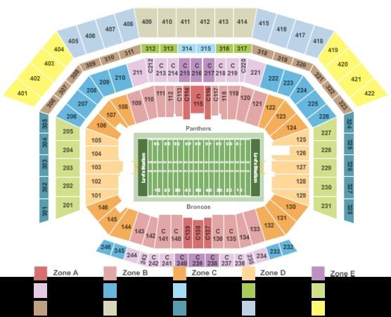 Levis Stadium Capacity >> Levi'stadium Tickets in Santa Clara California, Levi'stadium Seating Charts, Events and Schedule
