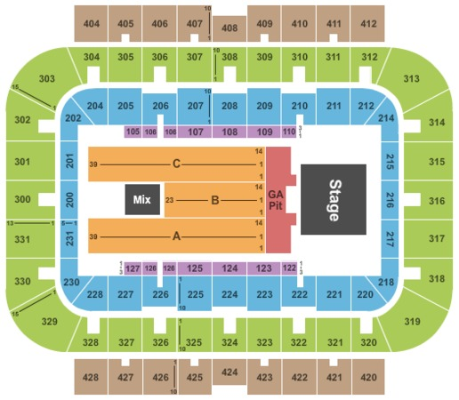 UWM Panther Arena Tickets in Milwaukee Wisconsin, UWM Panther Arena Seating Charts, Events and ...