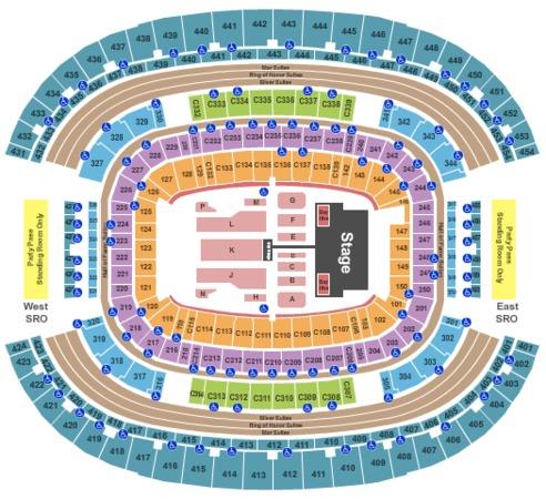 AT&T Stadium Beyonce