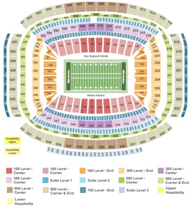 NRG Stadium 2017 - Superbowl 51-IntZone