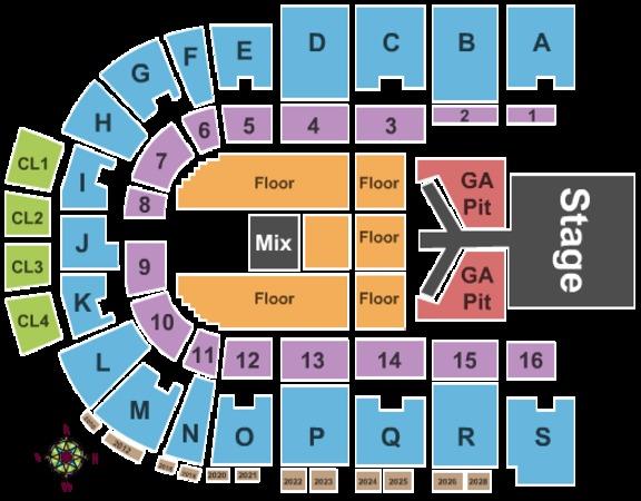 Rushmore Plaza Civic Center Arena Tickets In Rapid City