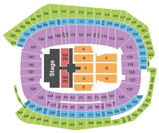 Us Bank Stadium Tickets In Minneapolis Minnesota Us Bank