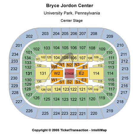 Bryce Jordan Center Center Stage