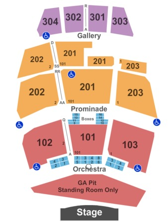 Coney Island Amphitheater Capacity