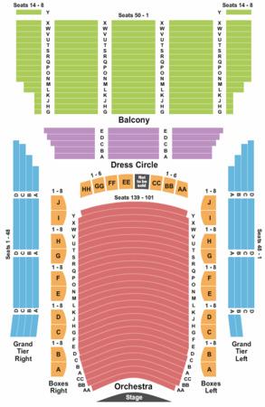 Lyric Opera House Tickets In Baltimore Maryland Lyric