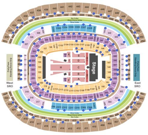 AT&T Stadium Guns N Roses