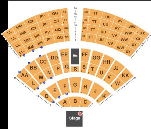 Mystic Lake Amphitheatre Tickets In Prior Lake Minnesota