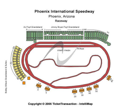 Phoenix International Raceway Tickets In Avondale Arizona
