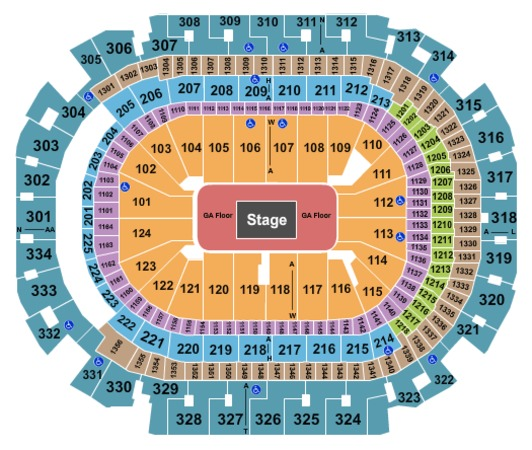 american airlines center tickets in dallas texas seating charts events and schedule