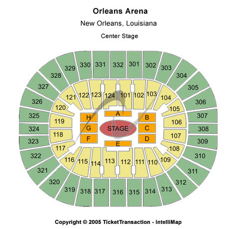 Smoothie King Center Center Stage
