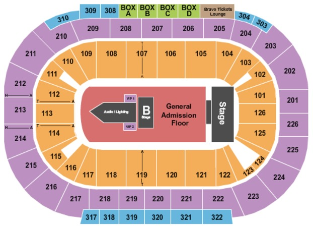 Mandalay Bay - Events Center Twenty One Pilots