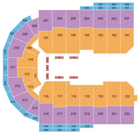 Erie Insurance Arena Cirque de Soleil - Ovo