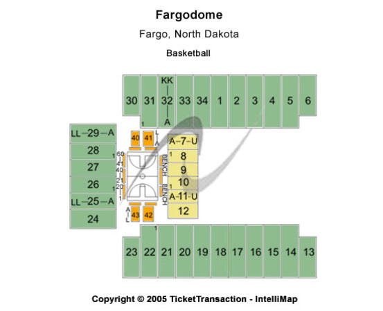Fargodome Basketball