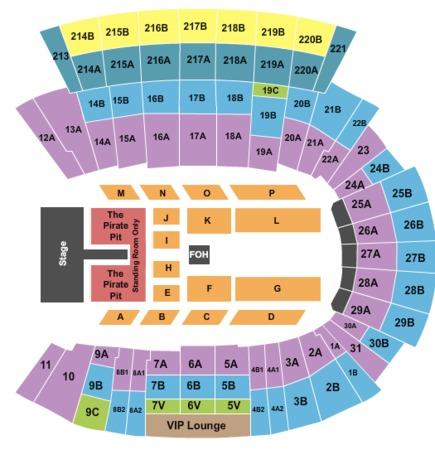 Dowdy-Ficklen Stadium Tickets in Greenville North Carolina ...