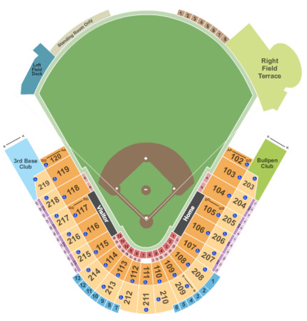 George m steinbrenner field tickets in tampa florida seating