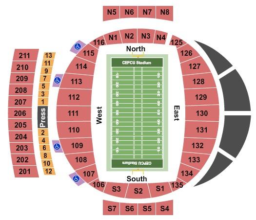 Cefcu Stadium Tickets In San Jose California Cefcu