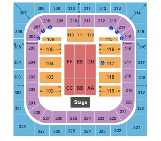 Prairie Capital Convention Center Tickets In Springfield