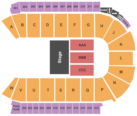 budweiser events center tickets in loveland colorado seating charts events and schedule
