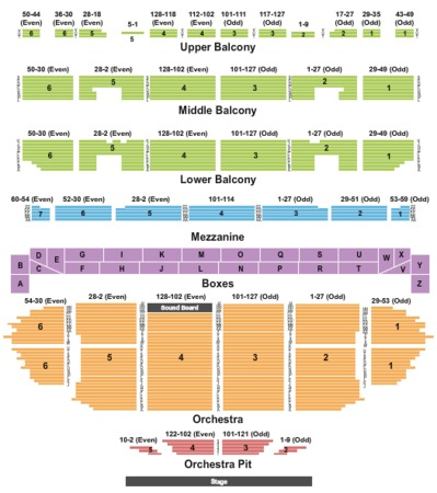Fabulous Fox Theatre Tickets In St Louis Missouri Seating Charts. Fabulous Fox Theatre End Stage. Seat. St Louis Fox Theatre Seating Diagram At Scoala.co