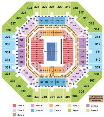 Arthur Ashe Stadium Tennis_Int-Zone