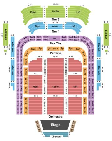 Kennedy Center Concert Hall Tickets In Washington District
