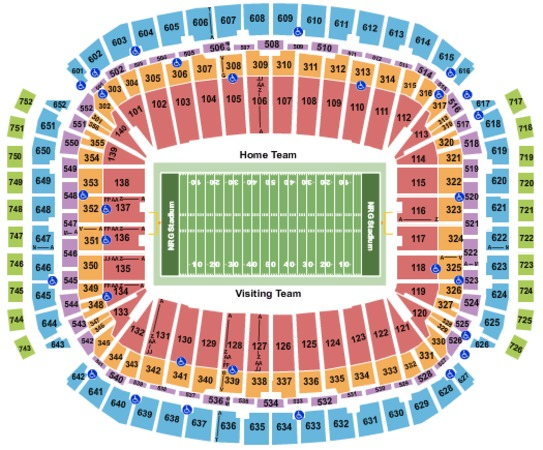 NRG Stadium Football - College