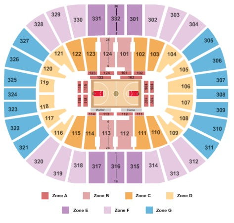 Smoothie King Center Basketball - IntZone