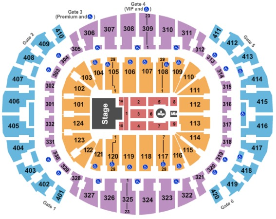 AmericanAirlines Arena Shawn Mendes