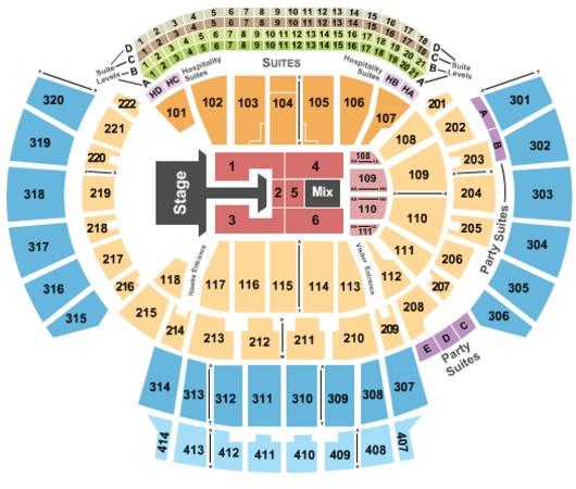 Philips Arena Atlanta Seating Chart Bk3