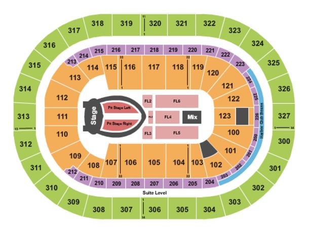 KeyBank Center Ariana Grande