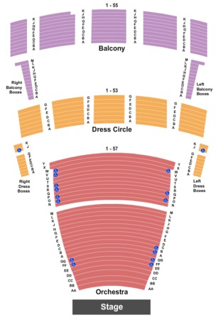 Chrysler Hall Endstage- Sections Combined