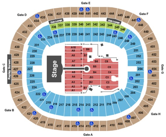 Bc Place Stadium Tickets in Vancouver British Columbia, Bc ...