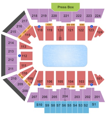 BMO Harris Bank Center Disney on Ice-NoFloor