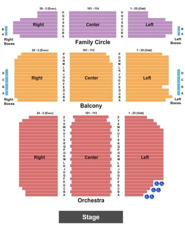 The kimmel center merriam theater tickets in philadelphia