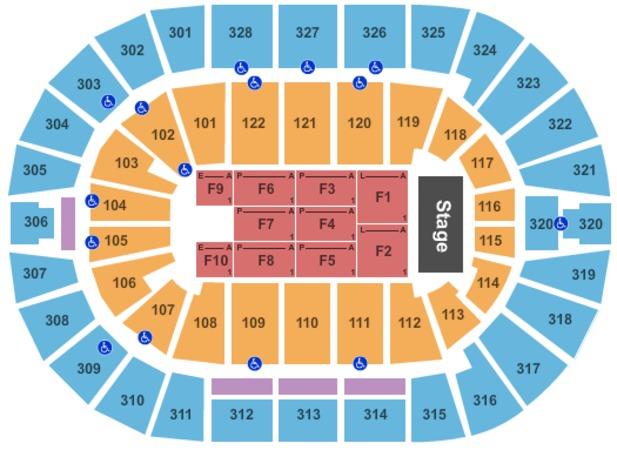 BOK Center Tickets in Tulsa Oklahoma, BOK Center Seating ...