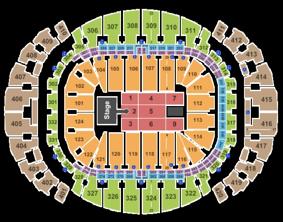 AmericanAirlines Arena Mary Blige