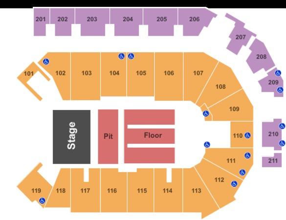 Ppl center tickets in allentown pennsylvania ppl center seating