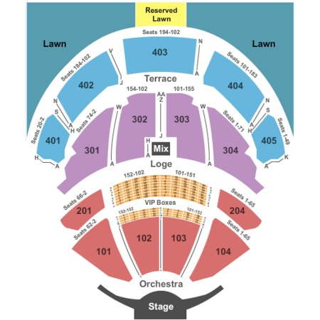 Pnc bank arts center tickets in holmdel new jersey seating charts